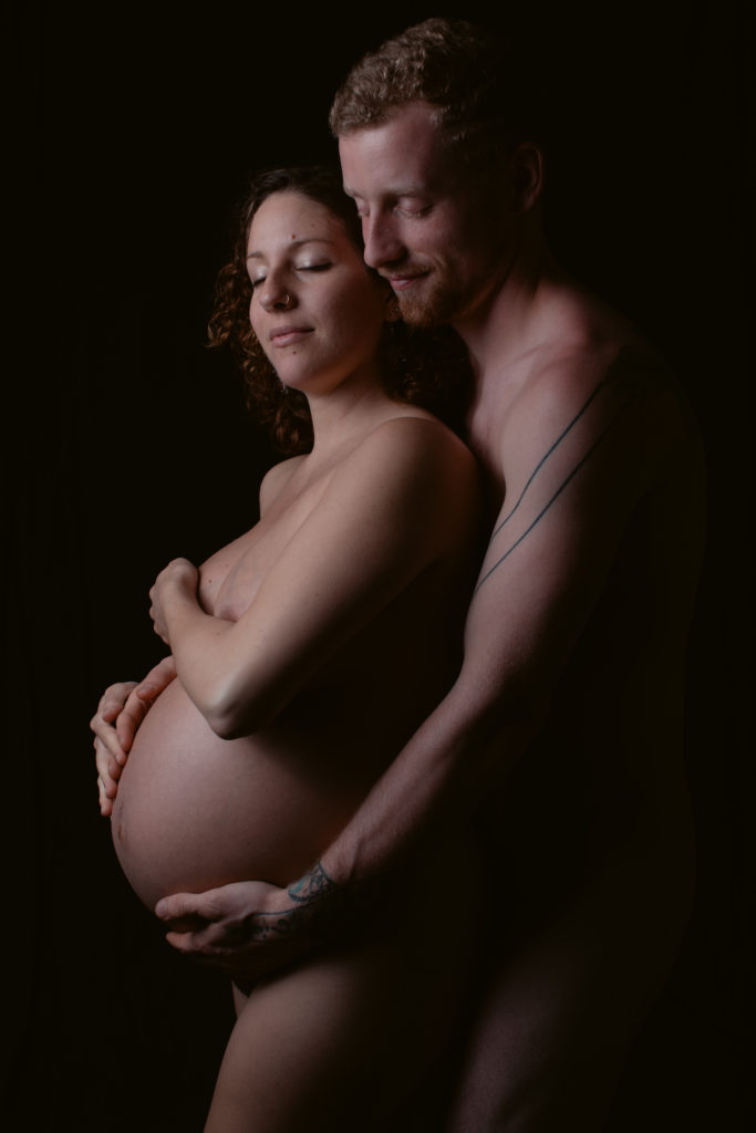 Ithaca NY maternity portrait photographer
