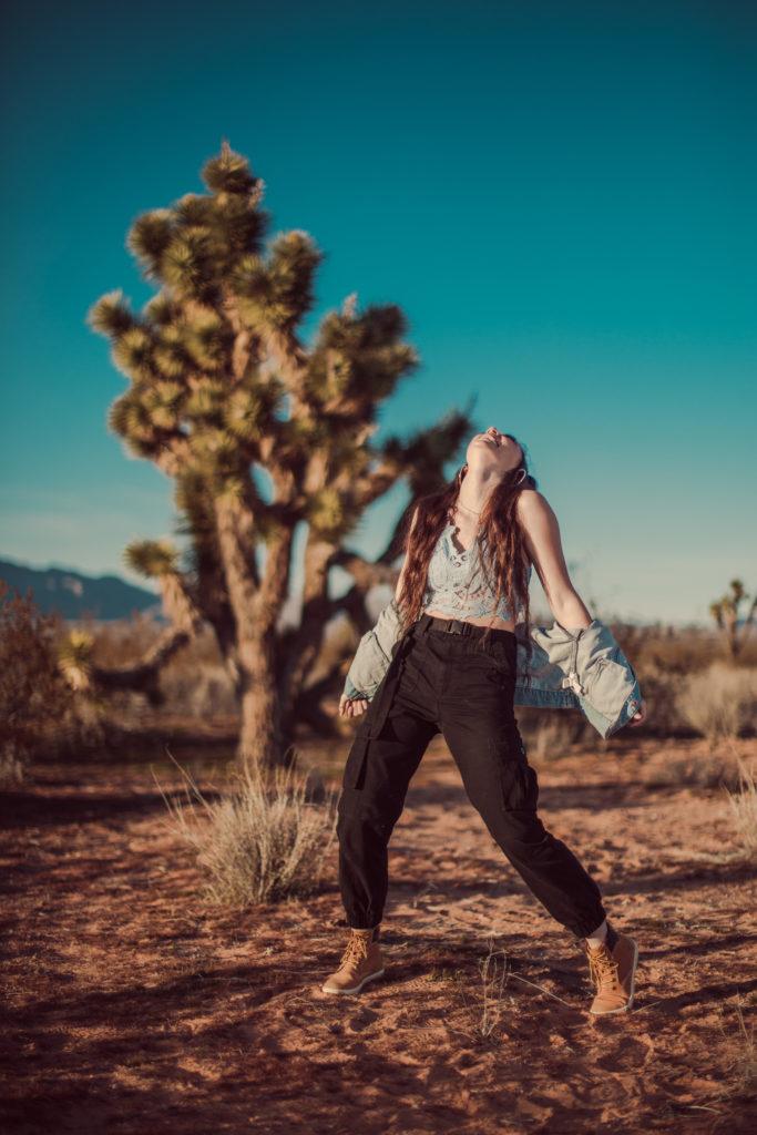 Styled Desert Portrait Senior Portrait Session, Las Vegas, Ithaca NY photographer