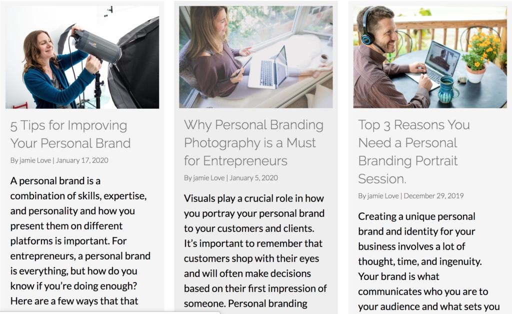 Best Personal Branding Photographer