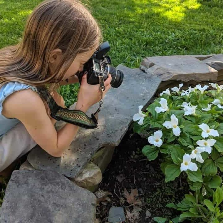 kids photography class, Upstate, NY